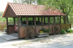 Carport (fahrbare Garage)